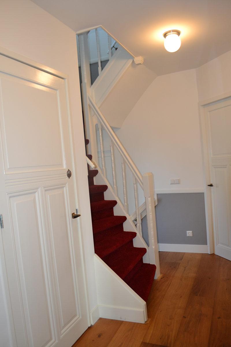 Verbouwing jaren 30 woning in den haag nancy arkema for Buitenste trap ontwerp